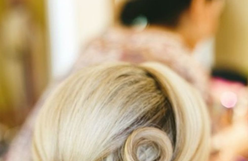 Penteados vintage para noivas <3