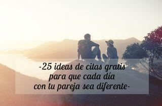 25 ideas de citas para disfrutar en pareja