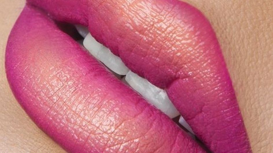 Ombré lips, seus lábios em degradê
