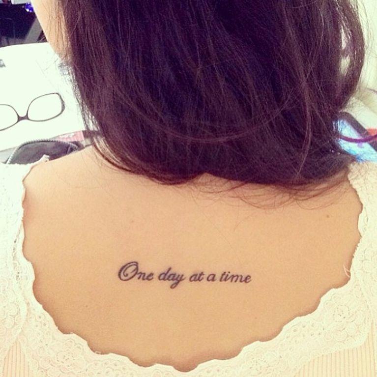 Frases Inglés Tatuaje Foto Enfemenino