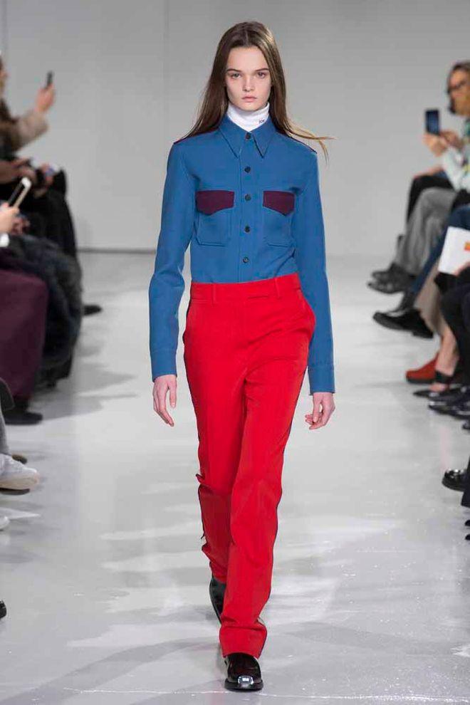 Calvin Klein otoño-invierno 2017/2018 New York Fashion Week