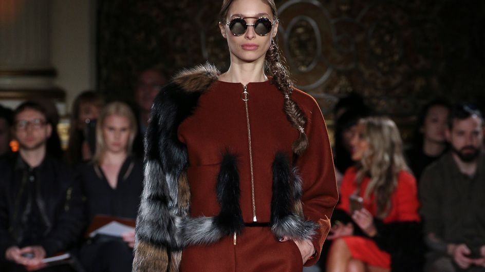 Christian Siriano otoño-invierno 2017/18 New York Fashion Week