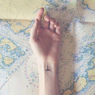 Envie d'évasion ? Craquez pour un tatouage de voyage !