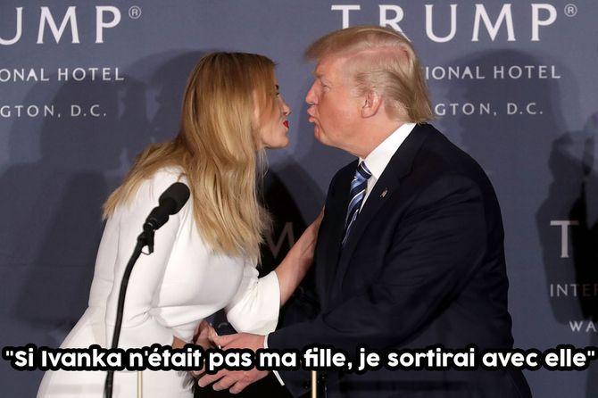 Donald et Ivanka Trump