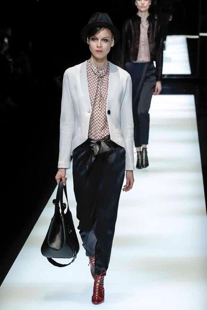 Giorgio Armani otoño-invierno 2017/2018 Milan Fashion Week