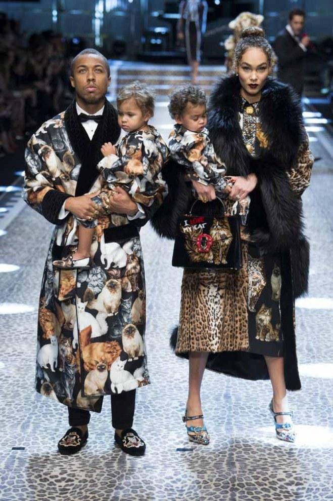 Dolce&Gabbana otoño-invierno 2017/2018 Milan Fashion Week