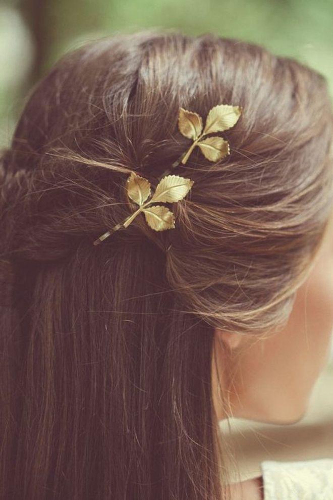 Accesorios minimalistas para el cabello