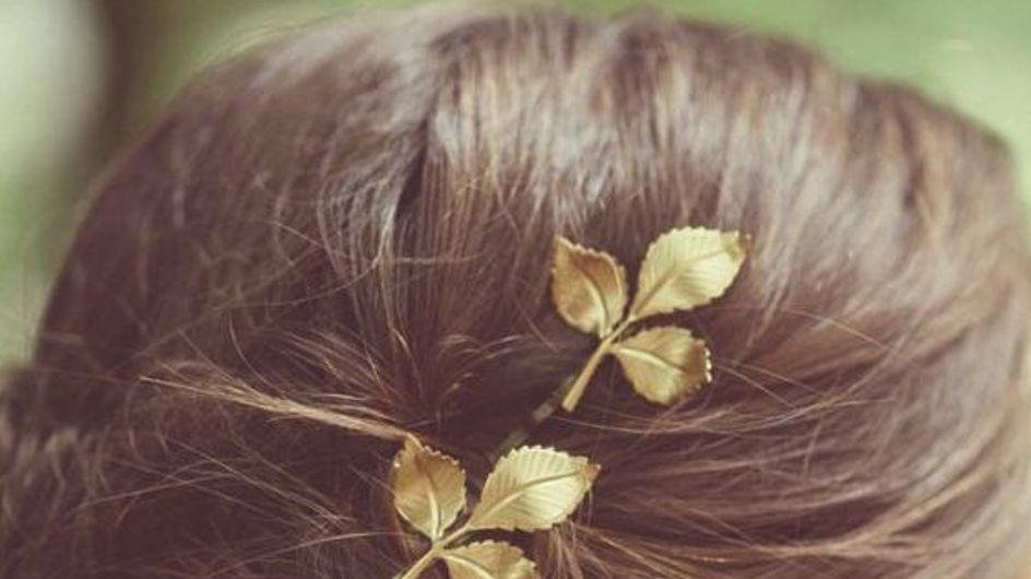 Accesorios minimalistas para el cabello de los que te enamorarás