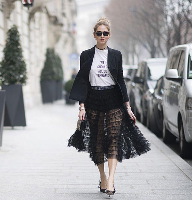 Chiara Ferragni - Camisetas que lo dicen todo