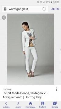 quantità limitata gamma esclusiva prima clienti pantaloni eleganti stretti dove posso trovarli online...
