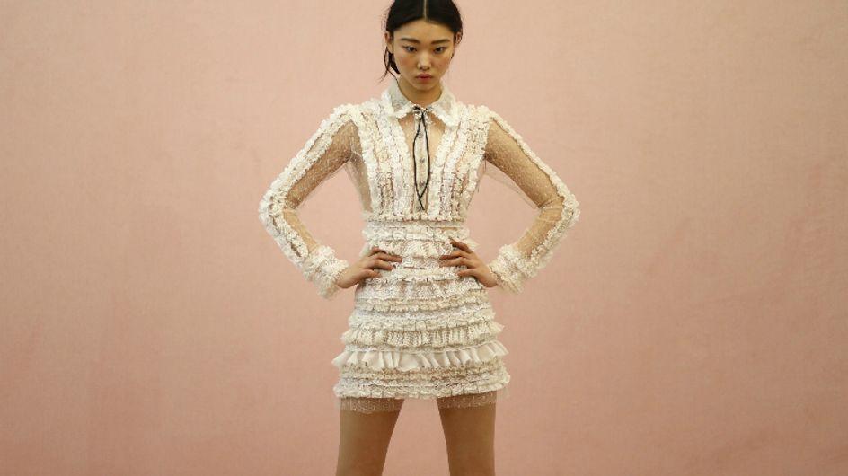 Apaixone-se pelos vestidos da Semana de Moda de Milão