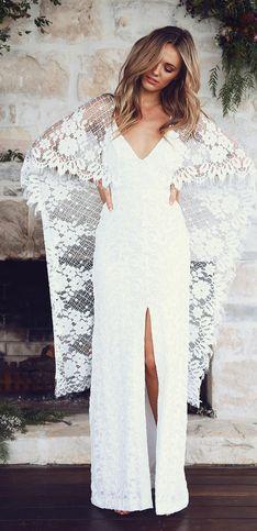 Für alle Boho-Bräute: DAS sind die schönsten Hippie-Hochzeitskleider 2017!