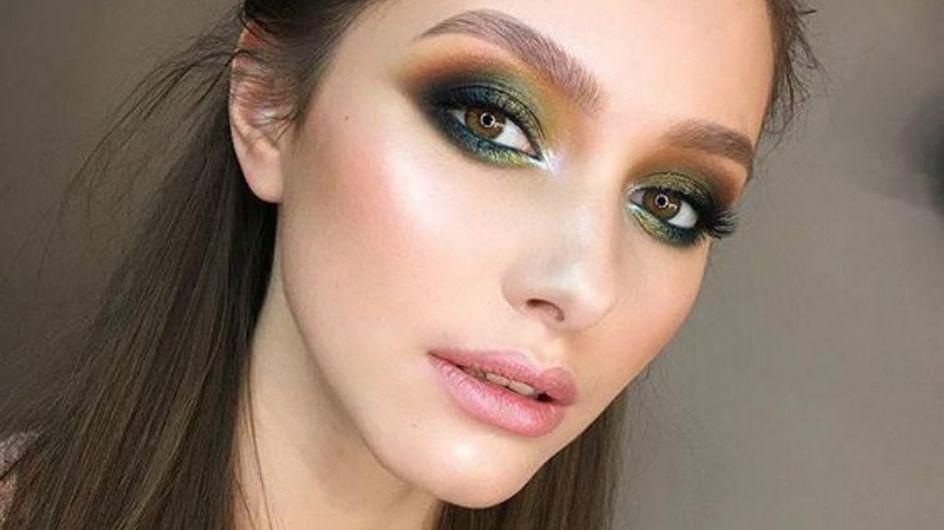 21 provas de que o greenery também funciona na maquiagem