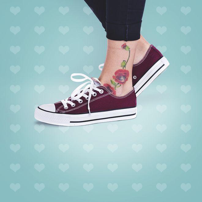 50 tatouages de cheville à découvrir