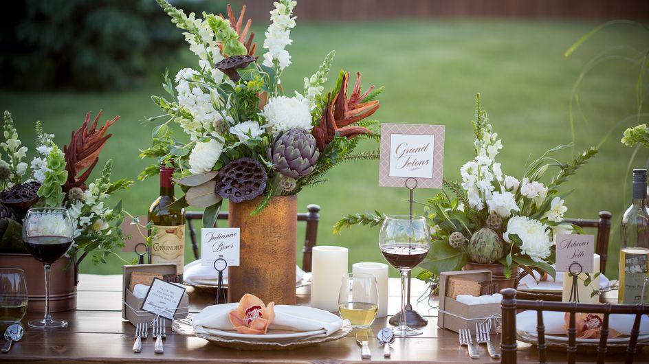 Tableau Matrimonio: idee originali per i tavoli della vostra cerimonia