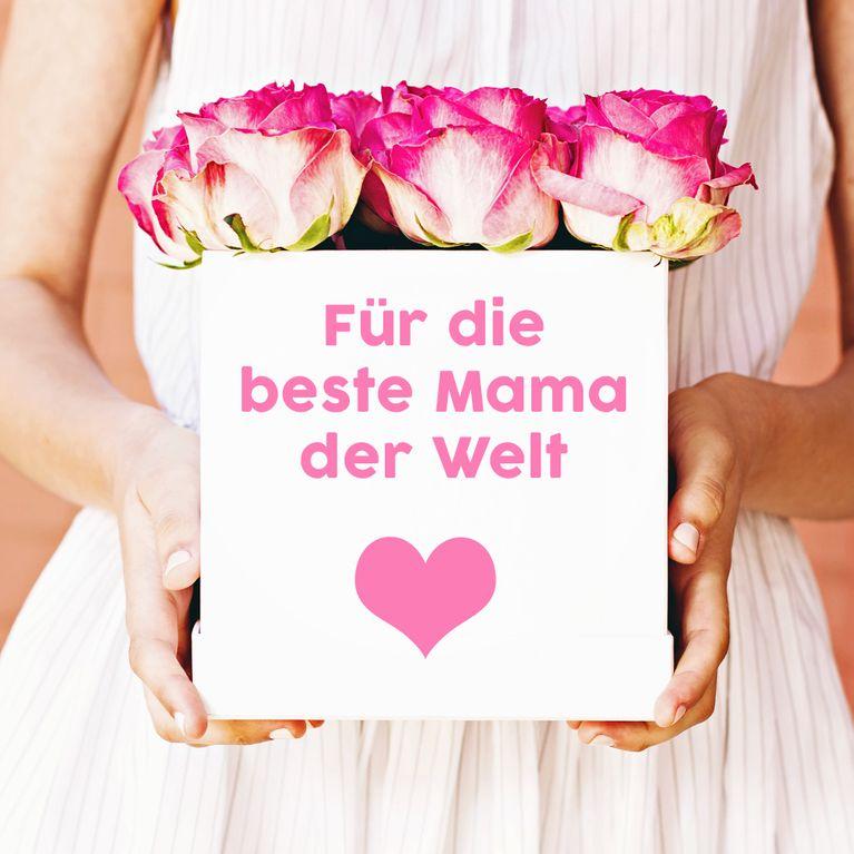 Danke Mama Die Schonsten Spruche Zum Muttertag Fotoalbum Gofeminin