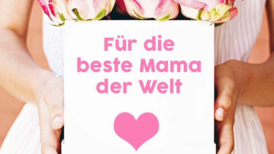 Danke Mama: Die schönsten Sprüche zum Muttertag