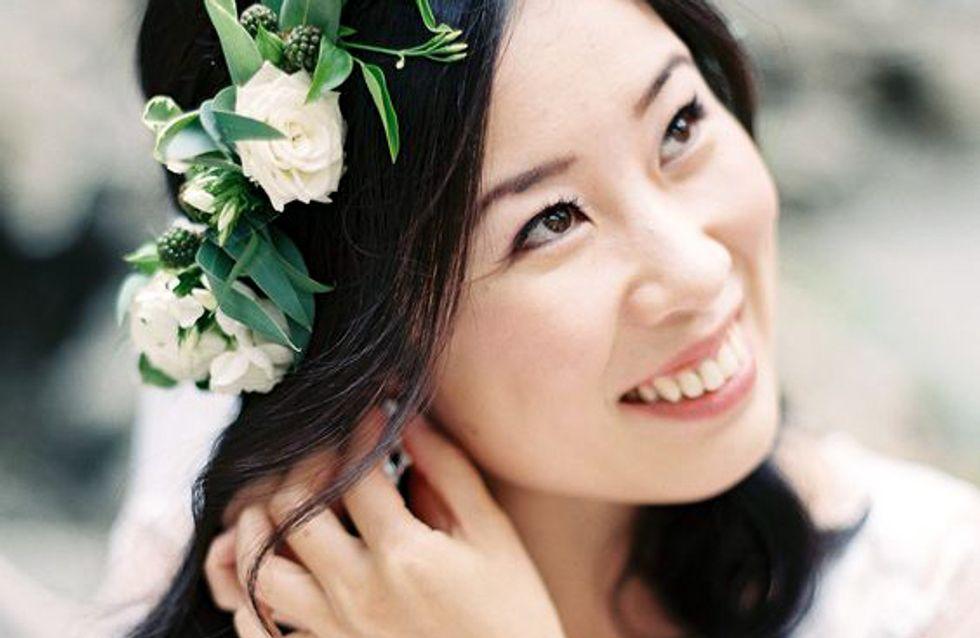 25 coroas de flores para noivas
