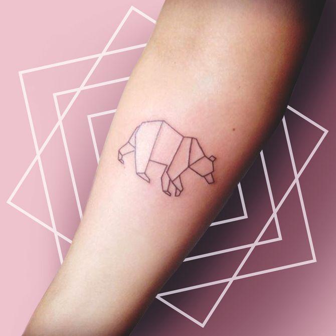 40 tatouages géométriques pour s'inspirer