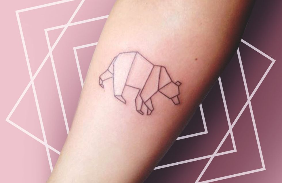 50 idées de tatouages géométriques pour s'inspirer