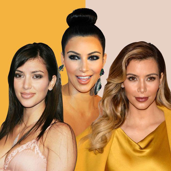 La evolución capilar de Kim Kardashian