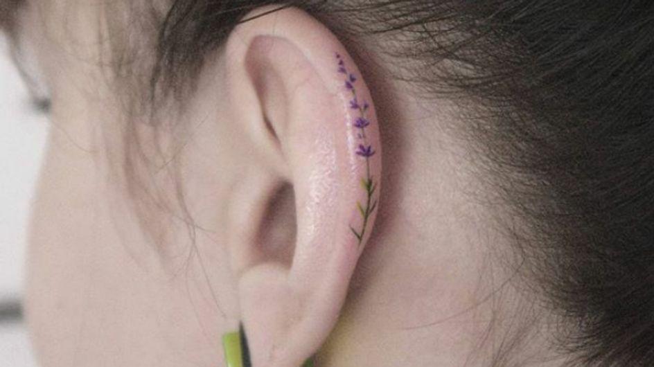 Tatuajes helix, la nueva tendencia minimalista que adorarás