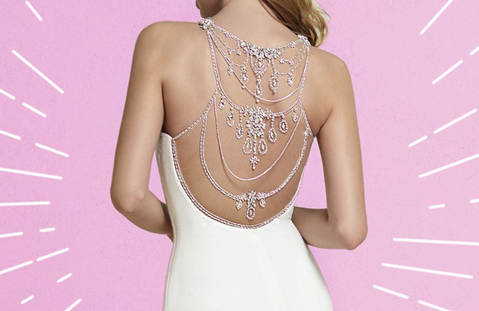 DAS sind die schönsten rückenfreien Brautkleider 2018!