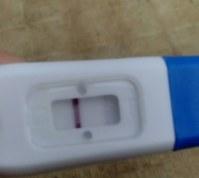 Dos rayas en la prueba de embarazo que significa