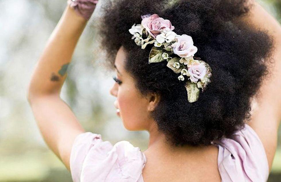 """Noivas crespas e cacheadas que disseram """"sim"""" para o cabelo natural"""