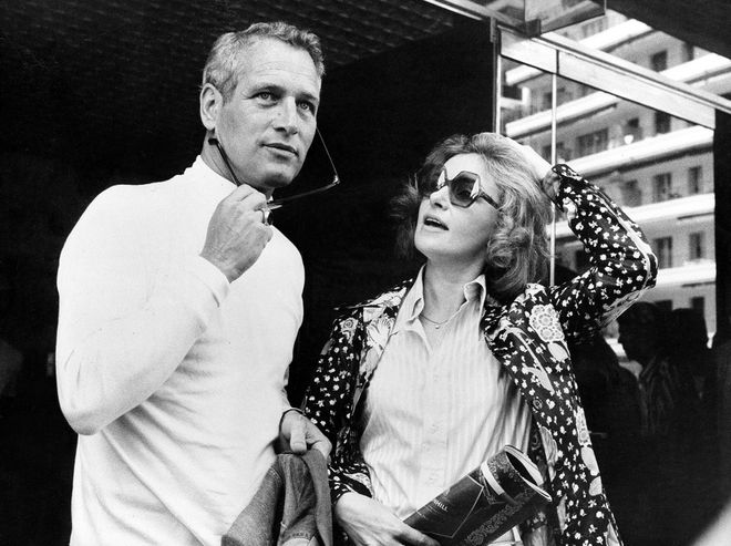 Las parejas míticas del Festival de Cannes - Paul Newman y Joanne Woodward