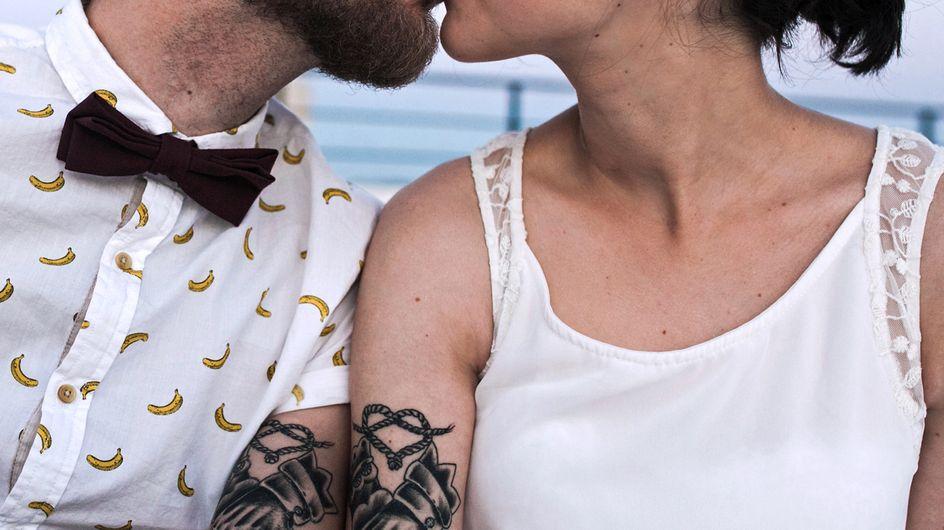 Die schönste Art JA zu sagen: 50 Verlobungs- & Hochzeitstattoos
