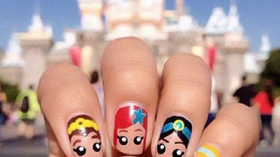Sumérgete en el mundo mágico de Disney con estos 30 nail arts