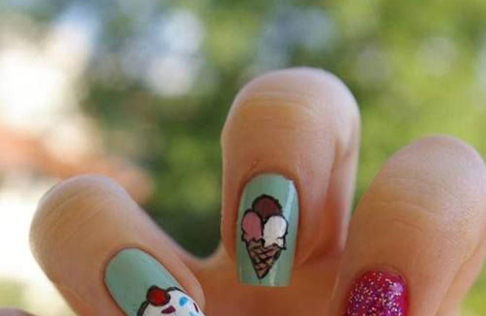 Manicura de helados: la opción más refrescante para el verano