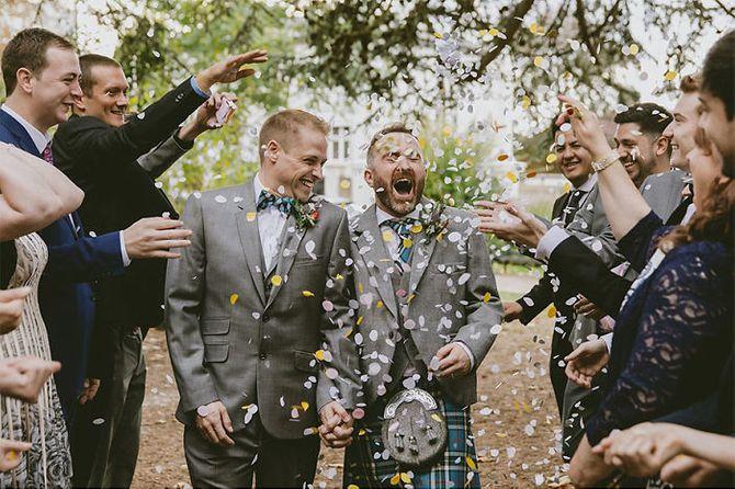 Las fotos más bonitas de bodas homosexuales