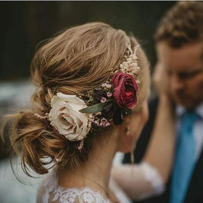 Peinados de novias para cabellos largos y corto