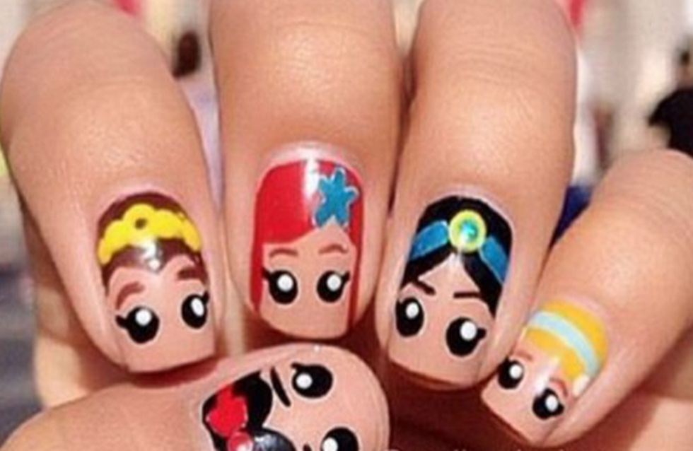 30 nail art per immergervi nel magico mondo Disney