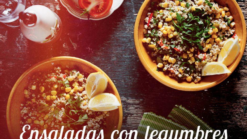 15 recetas de ensaladas de legumbres para llenar de color tu verano