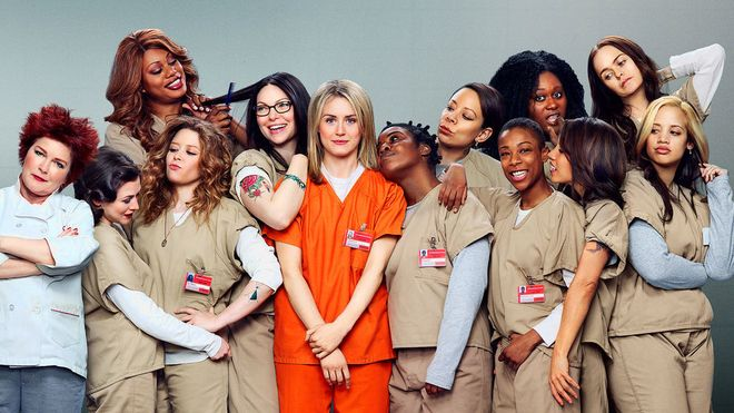 OITNB Cast Out Of Costume