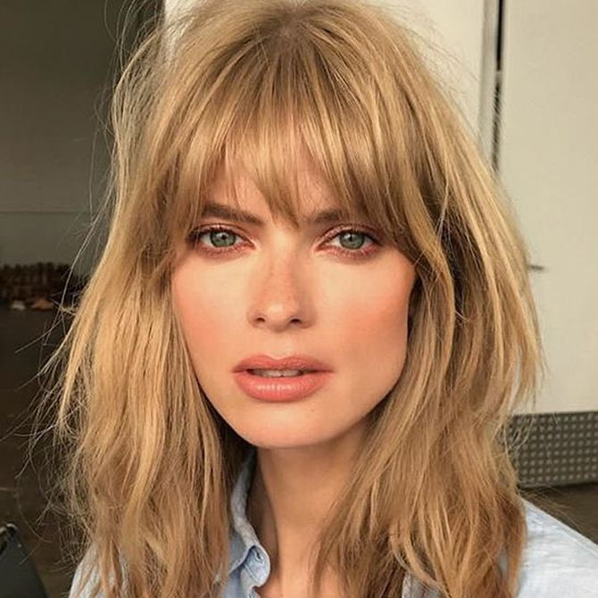 Taglio capelli donne frangia