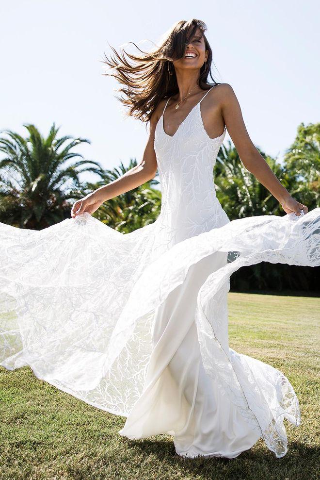 Traumschöne Brautkleider für die Sommerhochzeit