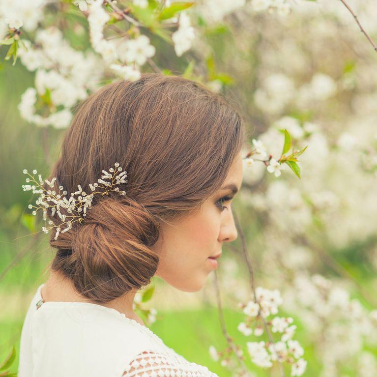 f223d6ba1 Los mejores peinados de novia para pelo liso   Foto - enfemenino
