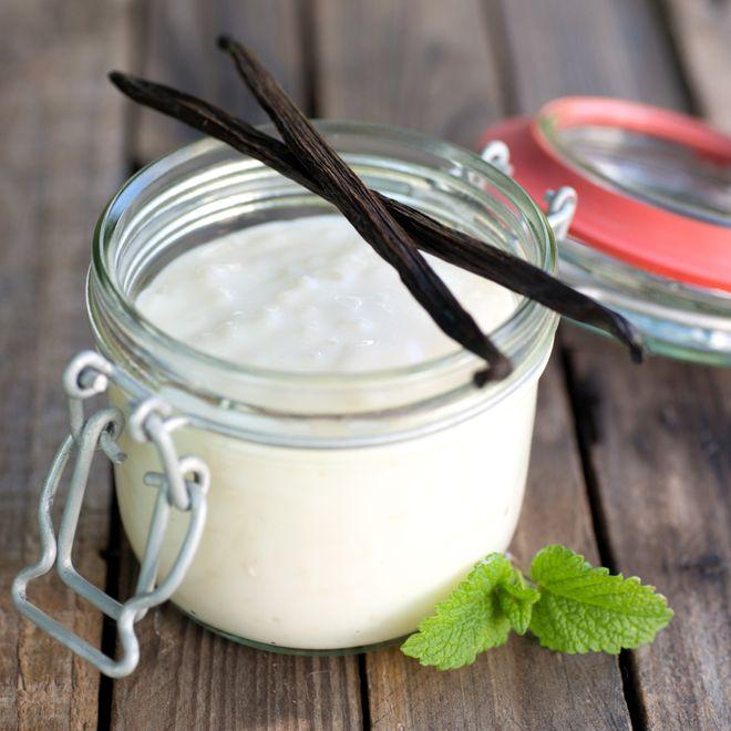 Riz à la vanille