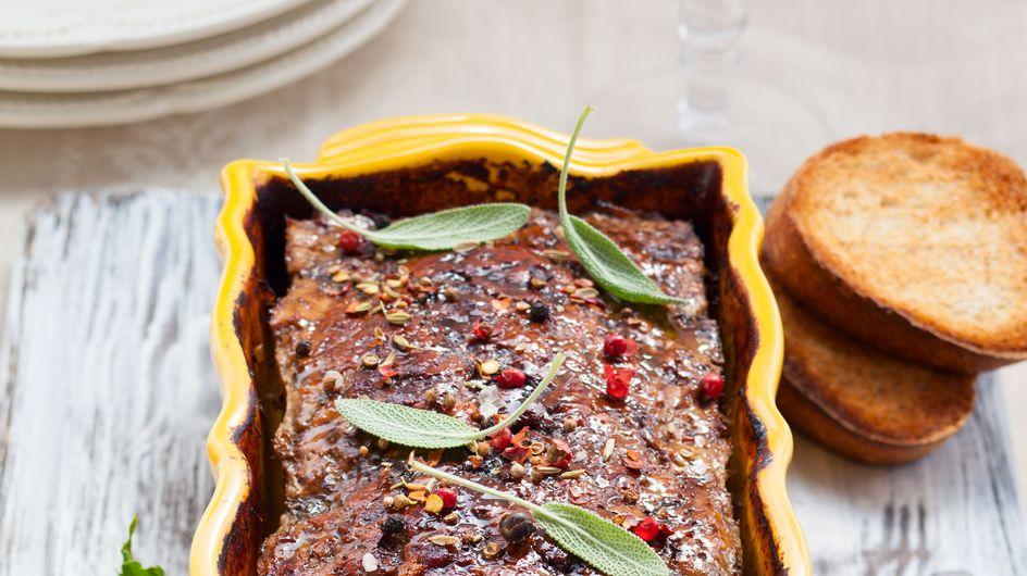 32 recettes faciles de terrines et de pâtés pour l'apéro