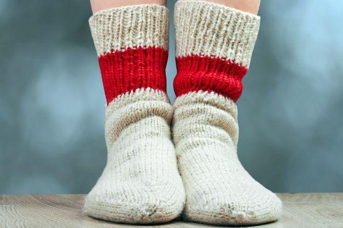 Des grosses chaussettes