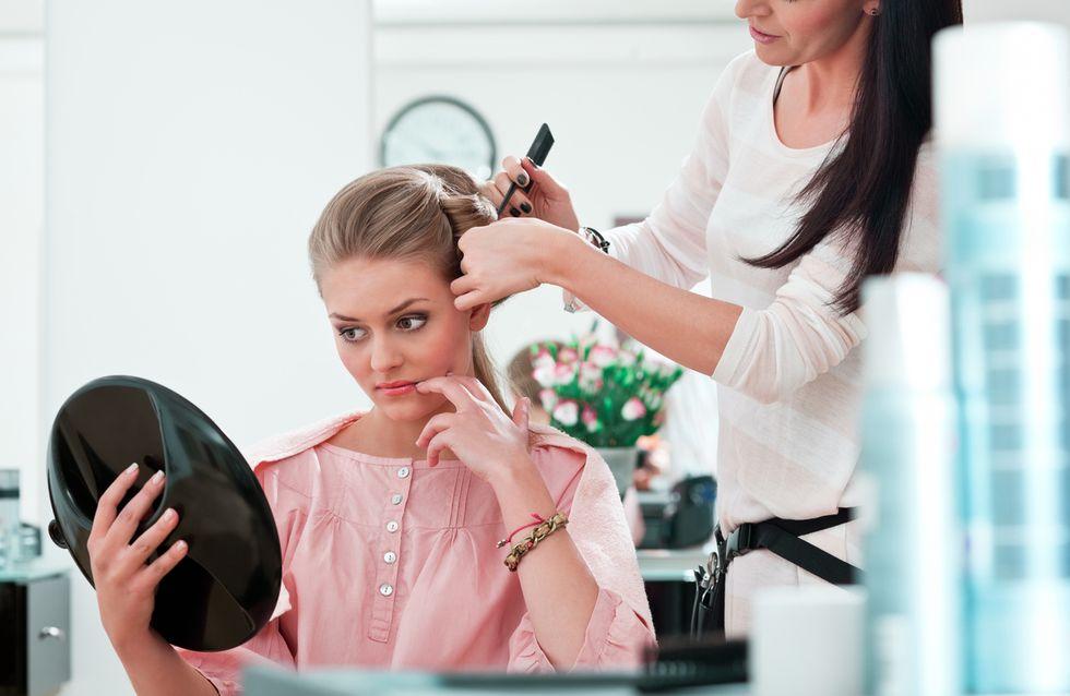 Voilà ce que pense secrètement votre coiffeur quand vous êtes entre ses mains...