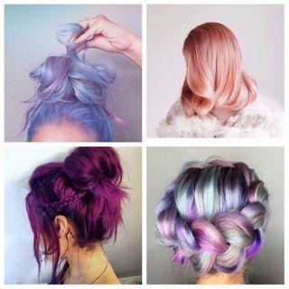 Cheveux colorés : les tendances