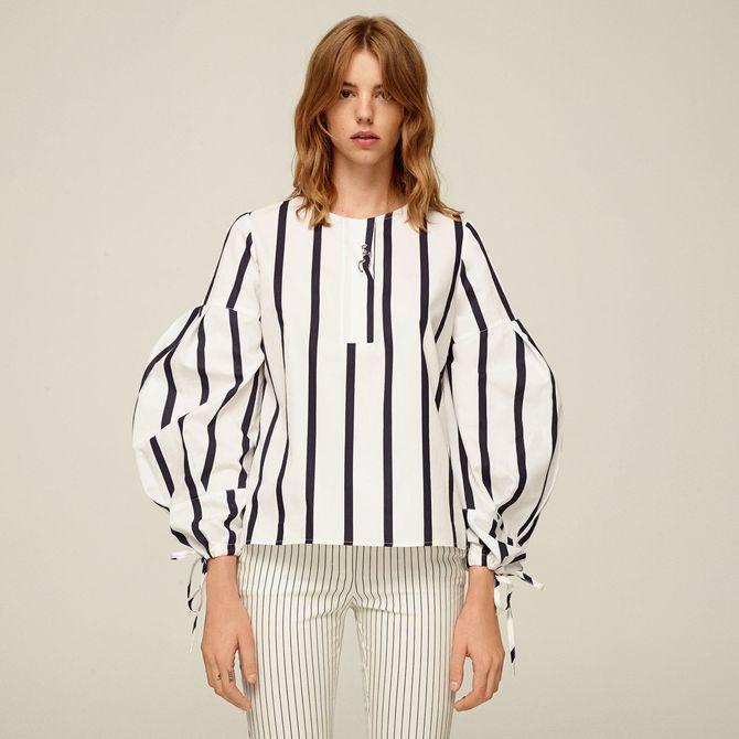 Righe optical tendenze moda autunno inverno 2017