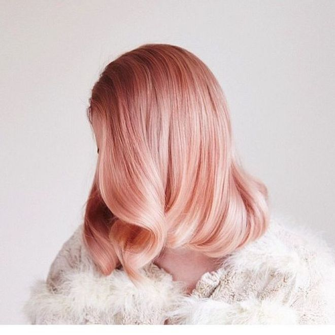 Color melocotón - Tendencias en color para el cabello 2017