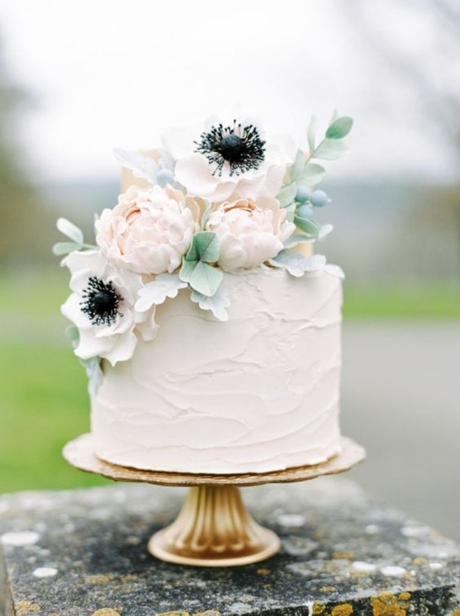 Wedding cake fleuri