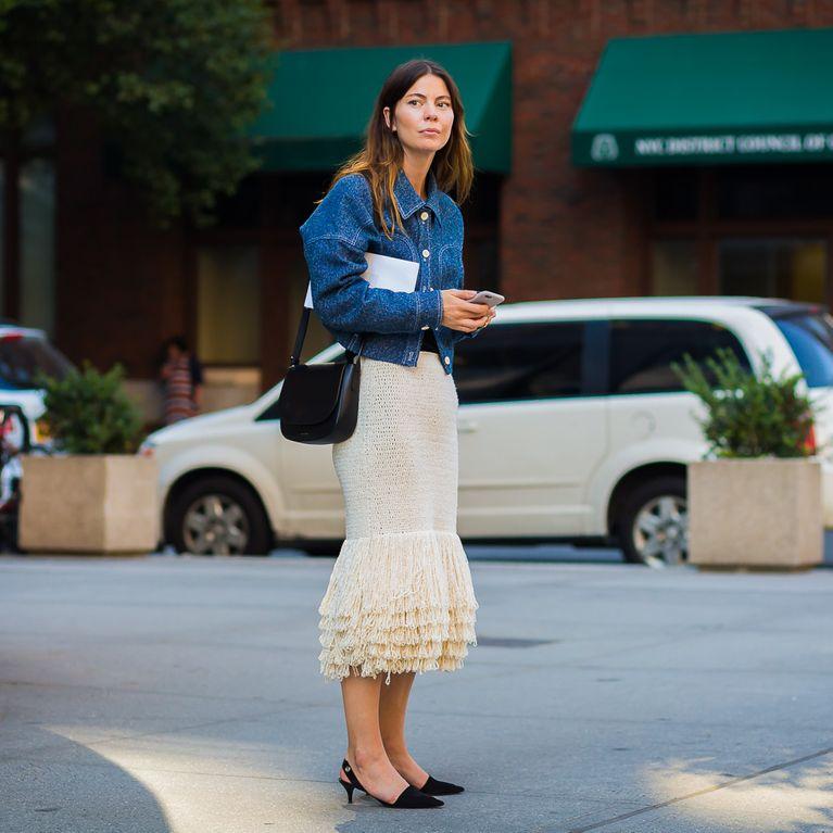 Street Style para working girls  los mejores looks para la rentrée 0c82647c282